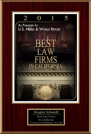 2015 Best Law Firms in California